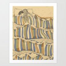 Ocean Of Love Art Print