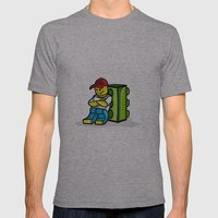 Dreamer.... Mens Fitted Tee Athletic Grey SMALL