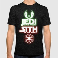 Jedi Mens Fitted Tee Tri-Black SMALL