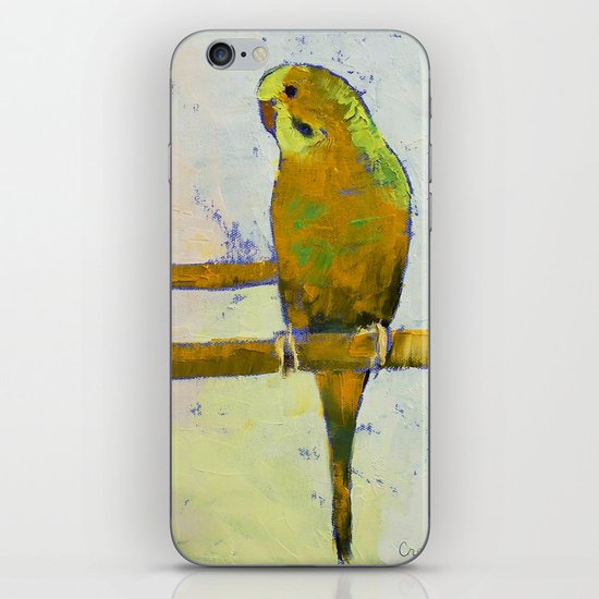 Three Parakeets iPhone & iPod Skin