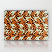 Tiger Conga pattern Laptop & iPad Skin