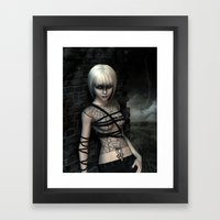 Night wanderer Framed Art Print