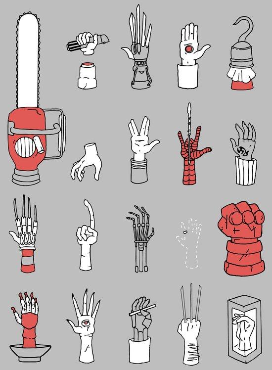Give Me A Hand Art Print