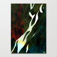nude number nine Canvas Print