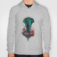Elephant On The Mat Hoody