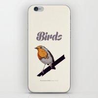BIRDS 02 iPhone & iPod Skin