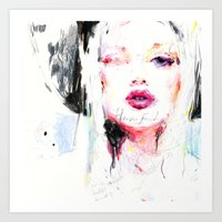 Heavenfaced Art Print