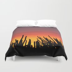 Catching fire Duvet Cover