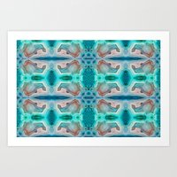 MINERAL DREAMS Art Print