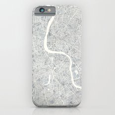 City Map London watercolor map  iPhone 6s Slim Case