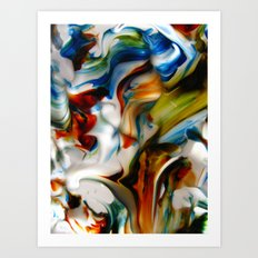 made waves Art Print