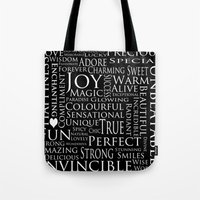 You Are All Of This And More!. Tote Bag