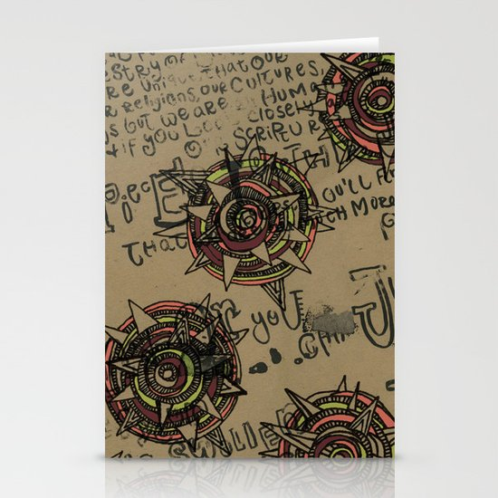 Quotes Stationery Card