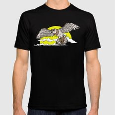 Broadwing  SMALL Mens Fitted Tee Black