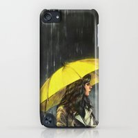 iPod Touch Cases featuring All Upon the Downtown Train by Alice X. Zhang