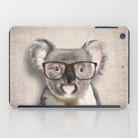 A Baby Koala With Glasse… iPad Case