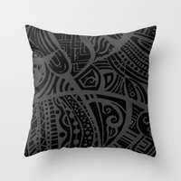 Abstractish 4 Throw Pillow