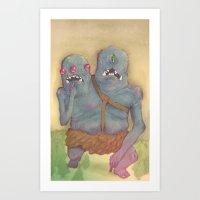 WE'RE EVIL!!! Art Print