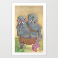 WE'RE EVIL!!! Art Print