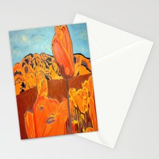 Orange Terrain Stationery Cards
