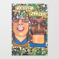 Coffee & Blunts Canvas Print