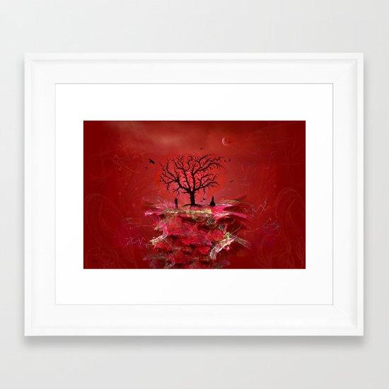 love island Framed Art Print