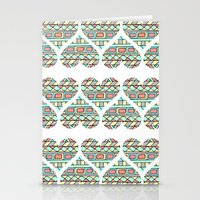 Aztec Hearts Stationery Cards