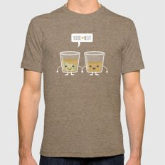 You're Neat! Mens Fitted Tee Tri-Coffee SMALL