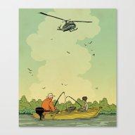 Vietnam Story 2 Canvas Print