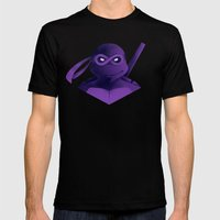 Donatello Forever Mens Fitted Tee Black SMALL
