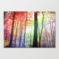 Forest Friends 2.0 Canvas Print