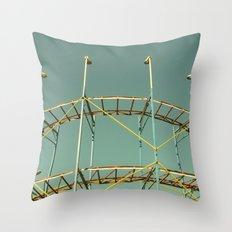 rollercoaster Throw Pillow