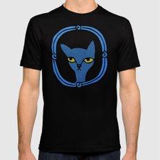 Tyger's Penetrating Stare Mens Fitted Tee Black SMALL
