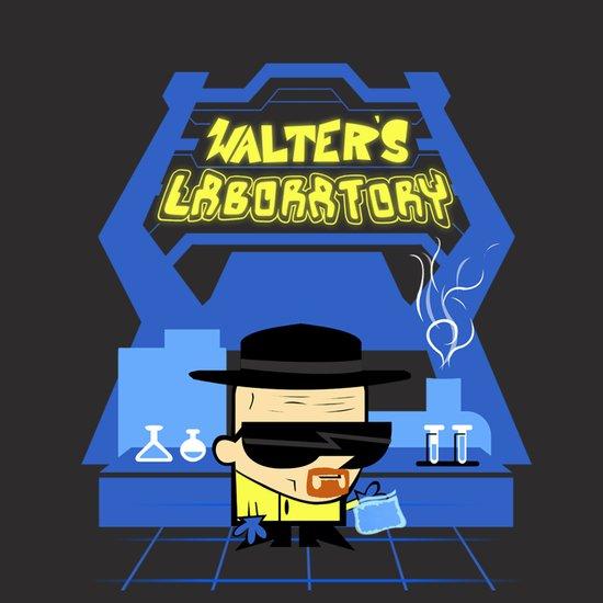 Walter's Laboratory  Art Print