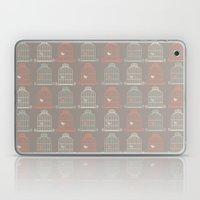 Bird Cage Pattern, Illustration, Shabby Chic, Vintage, Laptop & iPad Skin