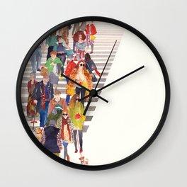 Wall Clock - Zebra crossing - takmaj