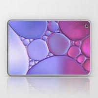Amethyst Ombre Bubbles Laptop & iPad Skin