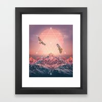 Find The Strength To Ris… Framed Art Print