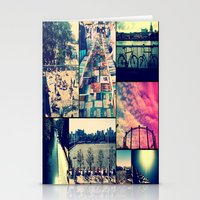 London Collage Stationery Cards