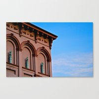 Cherubs On The Ledge Canvas Print