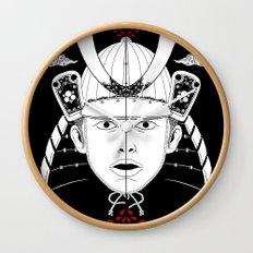 Perfect Samurai Slice Wall Clock