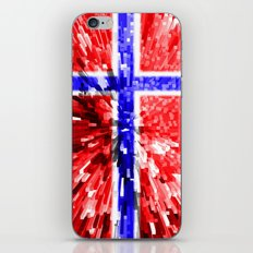 Norway Flag - Extrude iPhone & iPod Skin