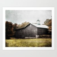 The Grey Barn Art Print