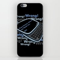 Texting Sherlock iPhone & iPod Skin