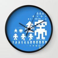 Robotron Wall Clock