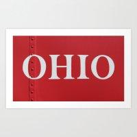 OHIO Art Print