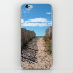 Way to the beach 2169 iPhone & iPod Skin
