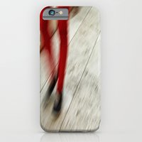iPhone & iPod Case featuring Red Hot Walking by Karol Livote