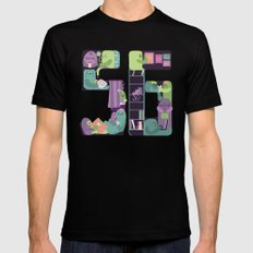 S6 tee Home is where S6 is SMALL Black Mens Fitted Tee