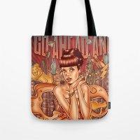 Smile - Lily Allen Tote Bag